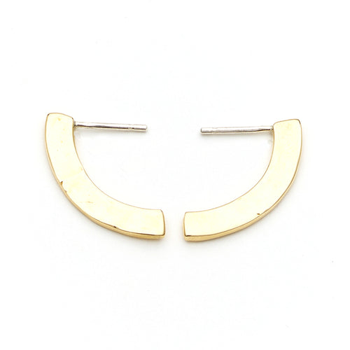 Piet Studs in Brass