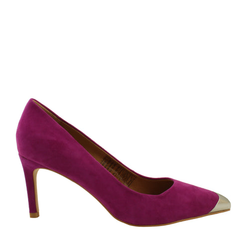 Cora Metal Toe in Fuchsia