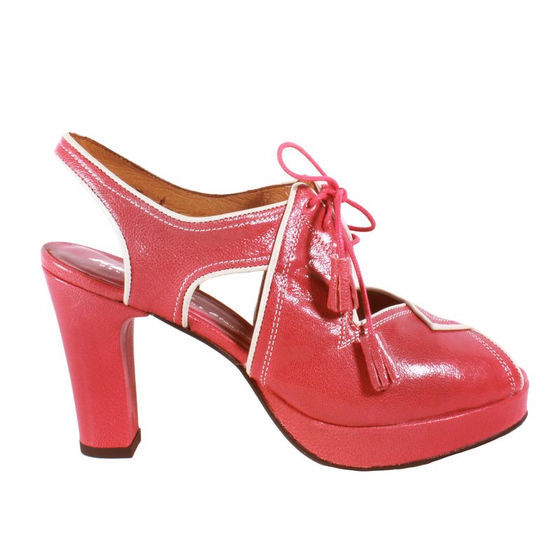 Katie Slingback in Red re-mix vintage