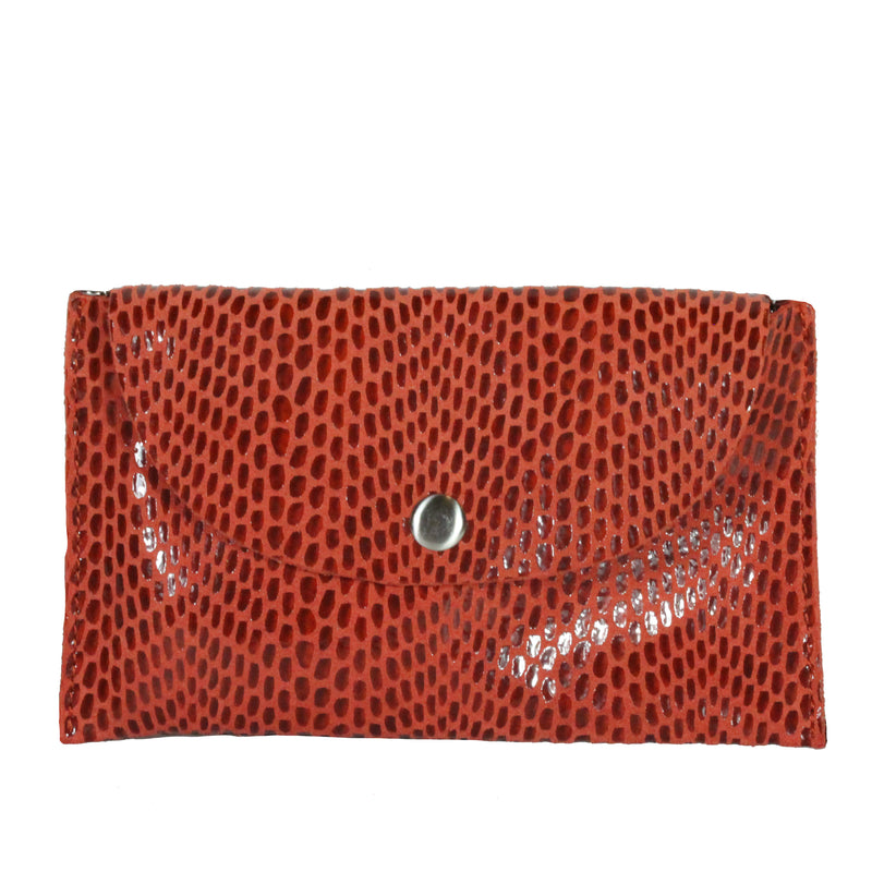 Rubina Micro Crossbody in Autumn Poppy
