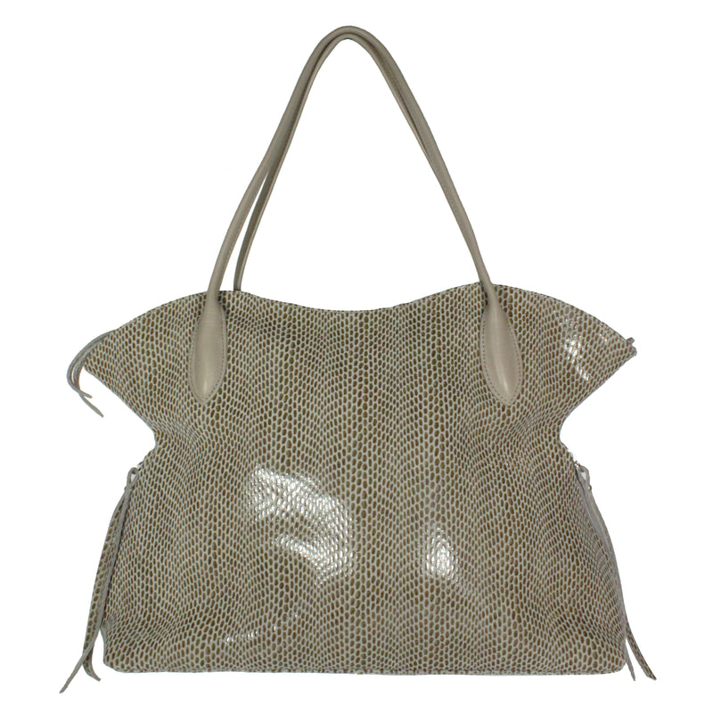 Bijou Tote in Toasty Grey