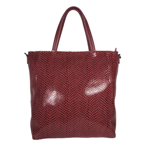 Rubina Mini Tote in Windsor Wine