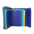 blue purple green wallet 1239