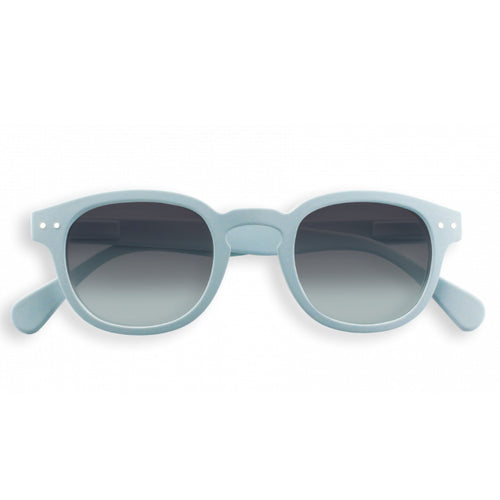 #C Shape Sunglasses in Slate Blue