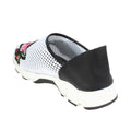 leather mesh womens spring summer sneakers