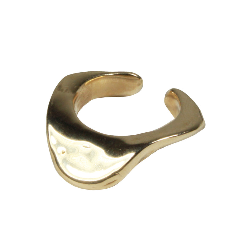 Slope Ring in Brass