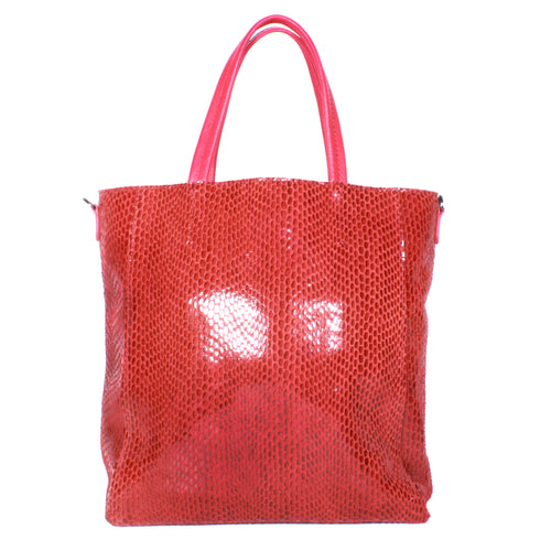 Rubina Mini Tote by Sorial in Crimson