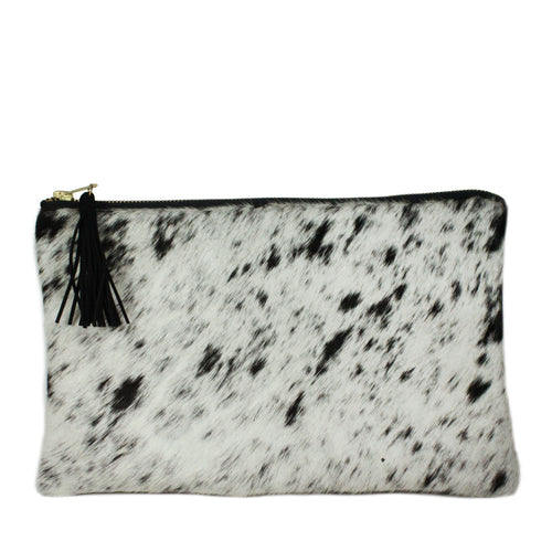 Hyde Signature Clutch in Speckled