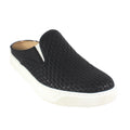 comfort slides sneakers black
