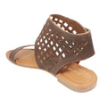 square perforated sandals online