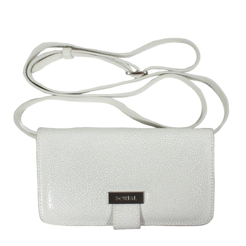 Oceana Cell Phone Bag in Summer White