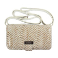 Rubina Cell Phone Bag in Summer White sorial