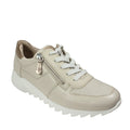 tan metallic stasia new spring sneakers