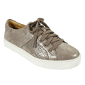 metallic bronze suede sneakers womens