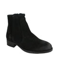 womens suede waterproof chelsea booties