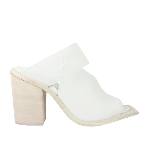mal & pai heels white leather
