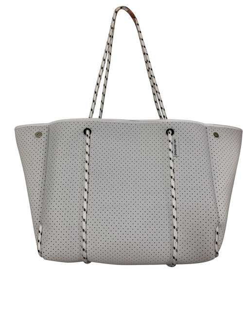 Neoprene Tote in White