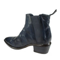 funky womens blue booties fall