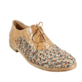 womens leather spring summer oxford flats