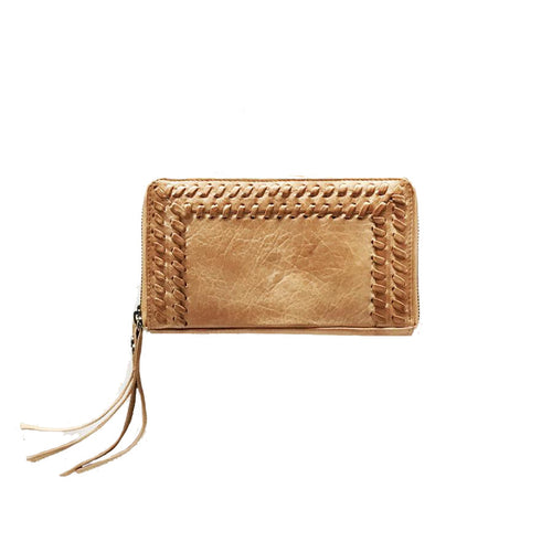 Velda Wallet by Day & Mood in Camel