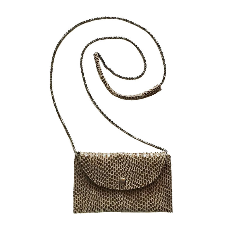 Rubina Mini Crossbody by Sorial in Walnut
