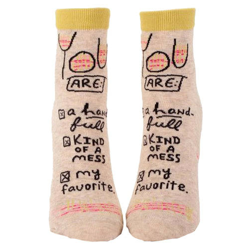 You Are My Favorite Ankle Socks