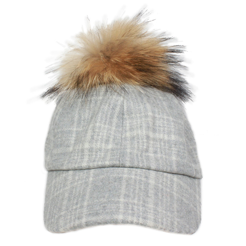YVJ602 by Hat Attack in Grey/Brown