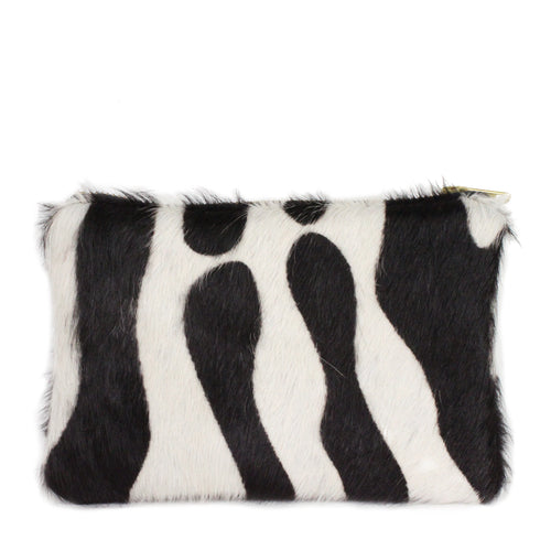 Hyde Mini Clutch in Zebra