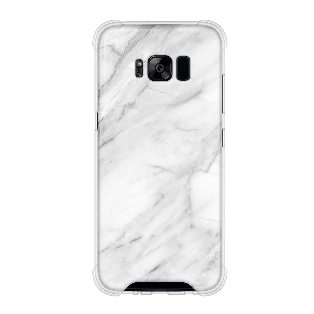 White Marble Samsung anti gravity case