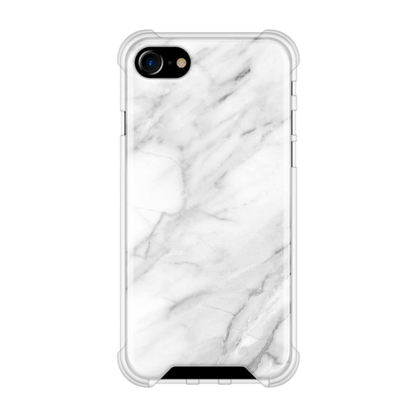 Zero Gravity Phone Case white marble