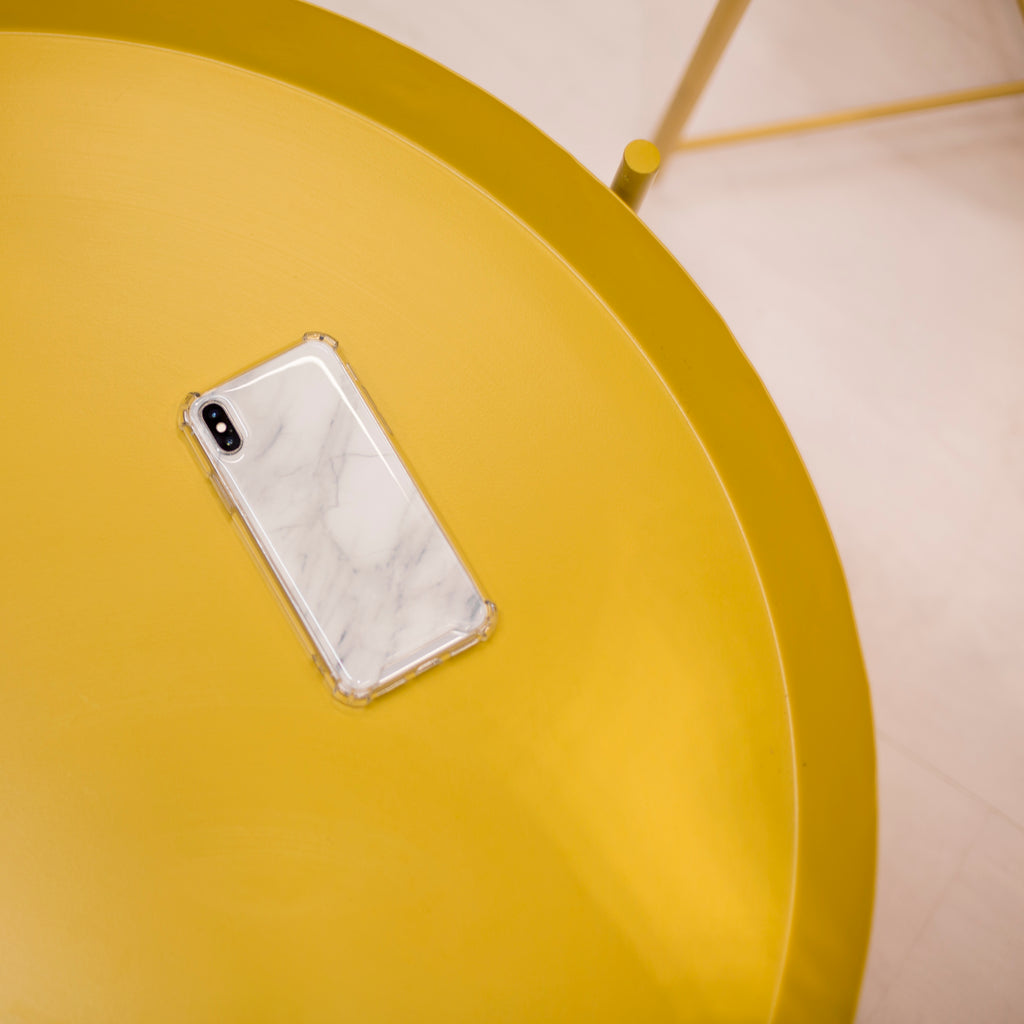 Zero Gravity iPhone Case – White Marble