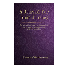 A JOURNAL FOR YOUR JOURNEY by DONNA MATHIOWETZ