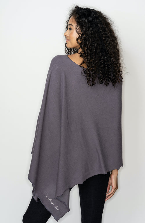 NEW BE LOVE PONCHO!! WITH EMBROIDERY -  RABBIT