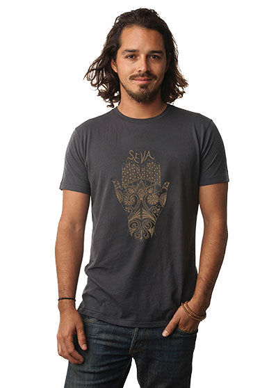 'SEVA' MENS PERFECT FIT ORGANIC TEE