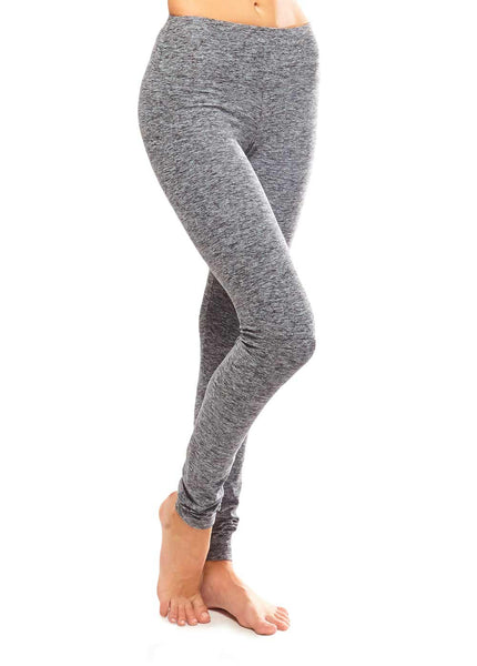 ULTRA SOFT AND STRONG HEATHER LEGGING  - FULL LENGTH