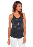 'PEACE ARROWS' RACER TANK TOP