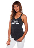 'PEACE WARRIOR' RACER TANK TOP