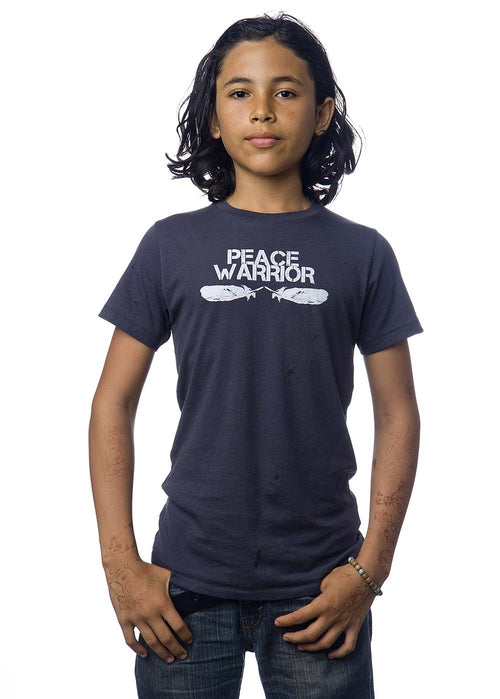 'PEACE WARRIOR' ORGANIC COTTON T-SHIRT