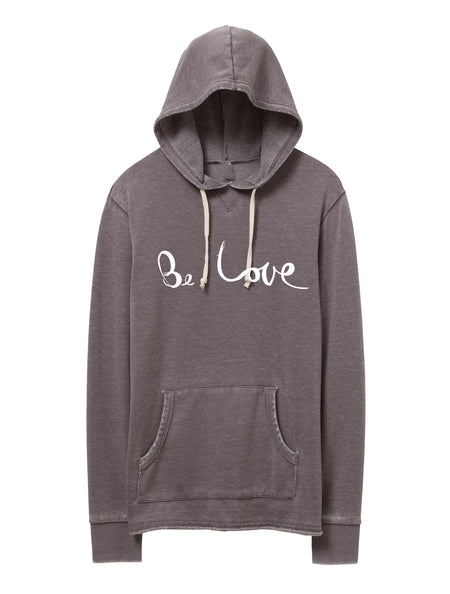 BOYFRIEND 'PEACE SIGN' FRENCH TERRY PULLOVER HOODIE