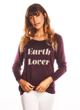 'EARTH LOVER' ULTRA SOFT RAGLAN