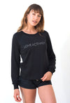 'LOVE ACTIVIST' FRENCH TERRY SWEATSHIRT