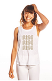 'RISE RISE RISE' - Perfect Fit Tank