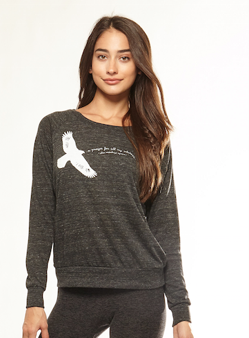 'Eagle & A Prayer' Lightweight Sweatshirt