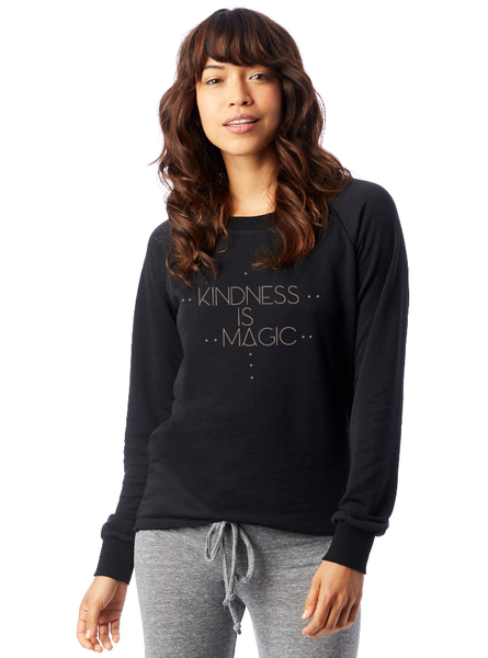 'KINDNESS IS MAGIC' FRENCH TERRY SWEATSHIRT