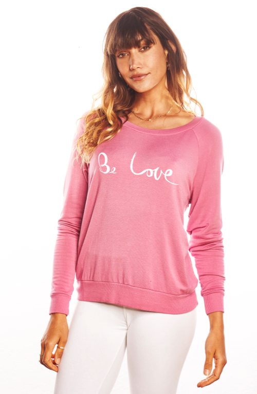 'BE LOVE' Ultra Soft Raglan