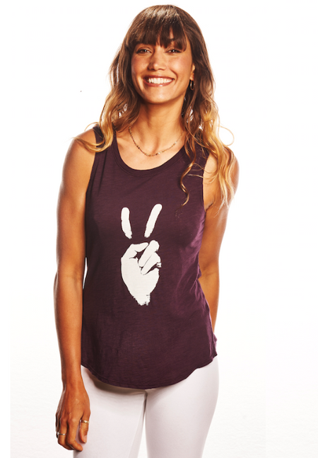 'She is Love' Festival Tank - Cashmere Rose