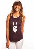 'Peace Sign' PERFECT FIT TANK