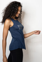 'RADICAL LOVE' PERFECT FIT TANK TOP - FJORD BLUE