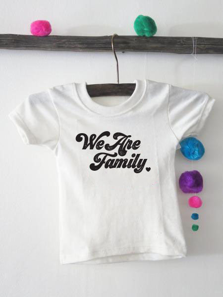 'WE ARE FAMILY' KIDS - PROFITS GIVEN TO TOGETHER RISING