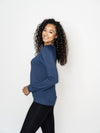 'TRUTH RISING' ULTRA SOFT RAGLAN PULLOVER-WINTER BLUE